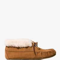 Suede Moccasins
