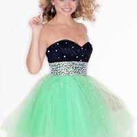 Mori Lee Sticks &amp; Stones Dress 9203 at Peaches Boutique
