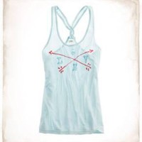 Aerie Love Graphic Tank - Aerie