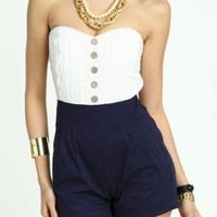 Nautical Romance Romper