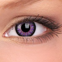 Amazon.com: iColor Complete Contact Lenses - Sweet Violet: Health &amp; Personal Care