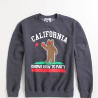 Riot Society Cali Knows How To Party Crew Fleece at PacSun.com