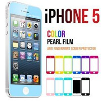 Amazon.com: Mercury Color Screen Protector for Apple iPhone 5 (Light Blue): Cell Phones &amp; Accessories