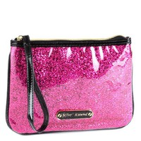 Betsey Johnson Wristlet - Magenta
