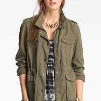 Rubbish® Army Jacket (Juniors) | Nordstrom