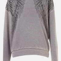 Topshop Wing Sweatshirt | Nordstrom