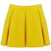 Pleat Flippy Skirt - Skirts - Clothing - Topshop