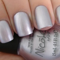 Nicole by OPI Nail Polish Light A Candle Metallic Lavender Purple So Pretty!