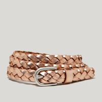 AEO Metallic Braided Belt | American Eagle Outfitters