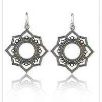 Katrina LaPenne Bindi Flower Earrings at ShopGoldyn.com