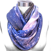 Galaxy Scarf SMC Nebula Circle Scarf Galaxy by Shadowplaynyc