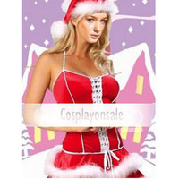 Sexy Red Christmas Girl Costume [TSY111116011] - $18.99 : Cosplay, Cosplay Costumes, Lolita Dress, Sweet Lolita