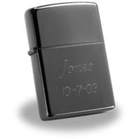 Zippo Black Ice Lighter with Free Engraving