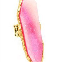 Ophelia Ring in Petal Pink