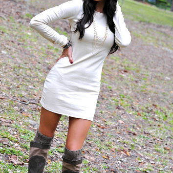 Love At First Sight Dress: Taupe   Hope's