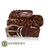 Element Belts - Element Camelia Leather Belt - Chocolate