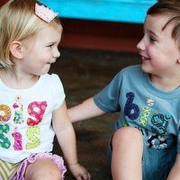 Big Sister Shirt (or Brother) the ORIGINAL on Etsy, Hand Applique Tee, For the new Big Sis or Bro, Great for bringing baby home