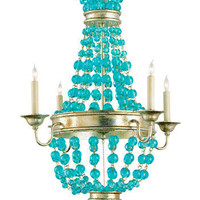 Currey and Company Serena Chandelier Small