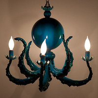 Octopus Chandelier
