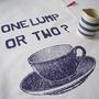 one lump or two tea towel by mr.ps | notonthehighstreet.com