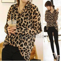 Autumn New Womens Leopar...