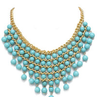 Turquoise Alyssa Necklace – Modeets.com