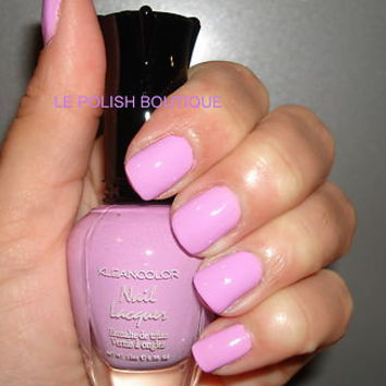 KLEANCOLOR NAIL POLISH~LACQUER ~ PASTEL PURPLE 140 ~ STUNNING NEW!