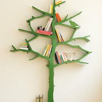 Tree Inspired Shelves