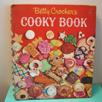 Betty Crocker Cooky Book First Edition As seen by timepassagesshop