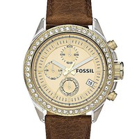 Fossil Decker Chronograph Watch - Women's Watches | Buckle
