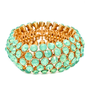 Pree Brulee - Azimuth Seafoam Crystal Bracelet