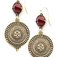 GYPSY WARRIOR - Medallion Chandelier Earrings