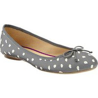 Women's Printed Canvas Ballet Flats | Old Navy