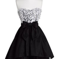 dELiAs &gt; Strapless Exposed Tulle Dress &gt; clothes &gt; dresses &gt; solid