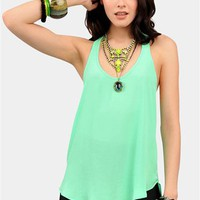 Dobby Tank Top - Mint