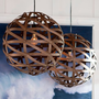 Austen Wood Veneer Pendant