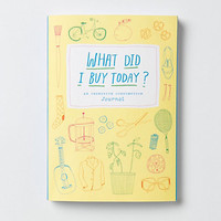 What Did I Buy Today? Hardcover Journal