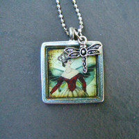 Dragonfly Fairy Necklace