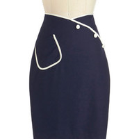Sailor Swift Skirt | Mod Retro Vintage Skirts | ModCloth.com