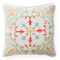 One Kings Lane - Marrakech Express - Medallion Pillow, Multi