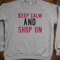 keep calm and shop on - Teen tops