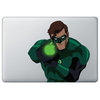 Green Lantern   Mac Decal Macbook Stickers Macbook by ileiss