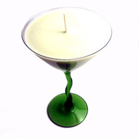 Custom Martini Soy Candle Natural You Choose Scent by SSSoap