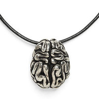ThinkGeek :: Anatomical Brain Pendant