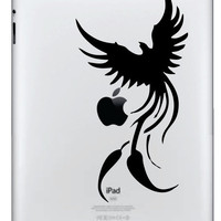 Phoenix iPad/iPad 2 Vinyl Decal FREE SHIPPING by NothinbutVinyl