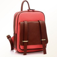 Vintage Style Backpack-pink