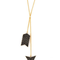 Cute Arrow Necklace - Y Necklace - $13.00