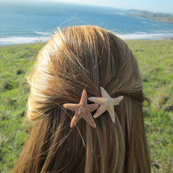 Starfish Duo Barrette