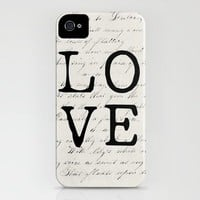 love iPhone Case by Beverly LeFevre | Society6