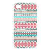 NEW Beautiful Aztec Pattern iPhone 4 Case EXTRA by SephiaAndromeda
